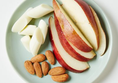 Fruit, Cheese and Nut Plate