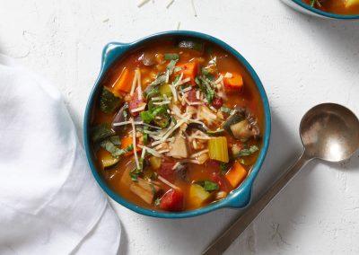 Italian-inspired vegetable soup