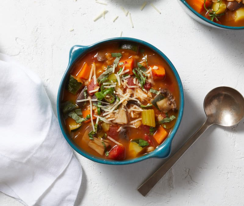 Italian-inspired vegetable soup
