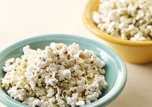 Parmesan-herb popcorn