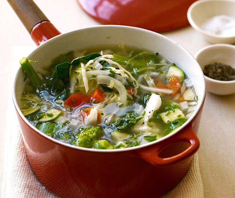 Basic vegetable soup